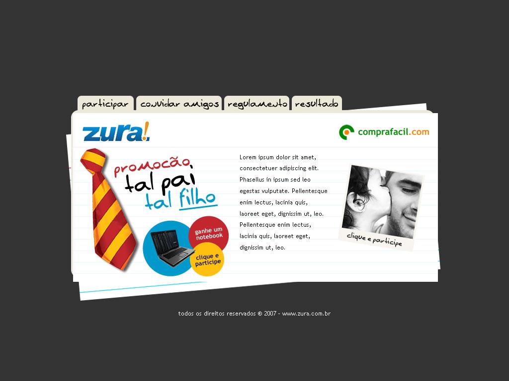 Promoção dia dos pais - Zura